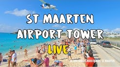 Juliana Airport St Maarten Live Air Traffic Control ✈️