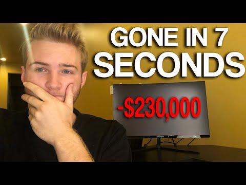I lost a $230,000 Per Month business in 7 seconds...