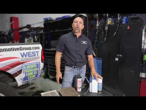 AC Evaporator Core Cleaning