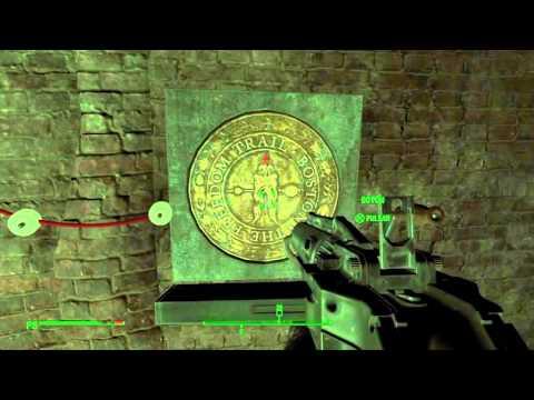 The Freedom Trail (Ferrocarril)-Password-R.A.I.L.R.O.A.D - Fallout4