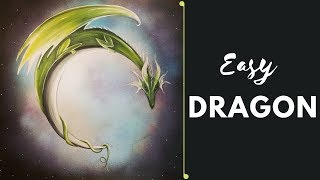 Easy Acrylic Dragon Painting Project