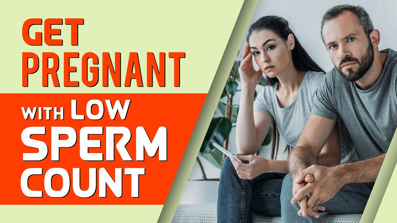 natural Changes low of sperm and motility low with pregnancy