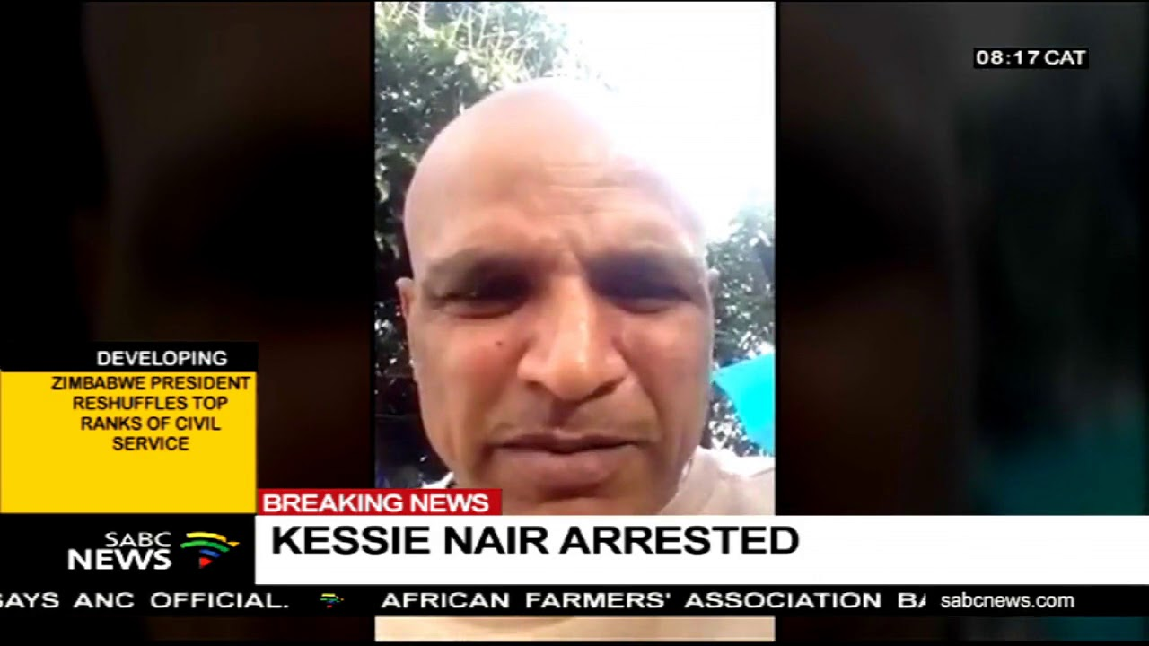 Kessie Nair arrested - YouTube