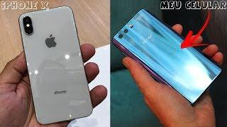 PRA QUE IPHONE X? Comprei o MELHOR e Mais BARATO que ELE!!! (Honor 9) o Mais LINDO DA ATUALIDADE!!!