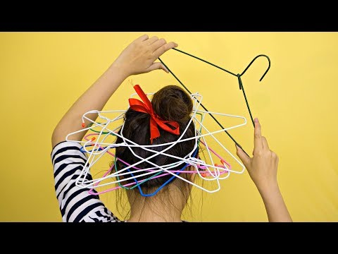 22 Wire Hangers Life Hacks - Best DIY and Crafts