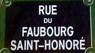 Rue du Faubourg Saint Honoré Paris Arrondissement  8e