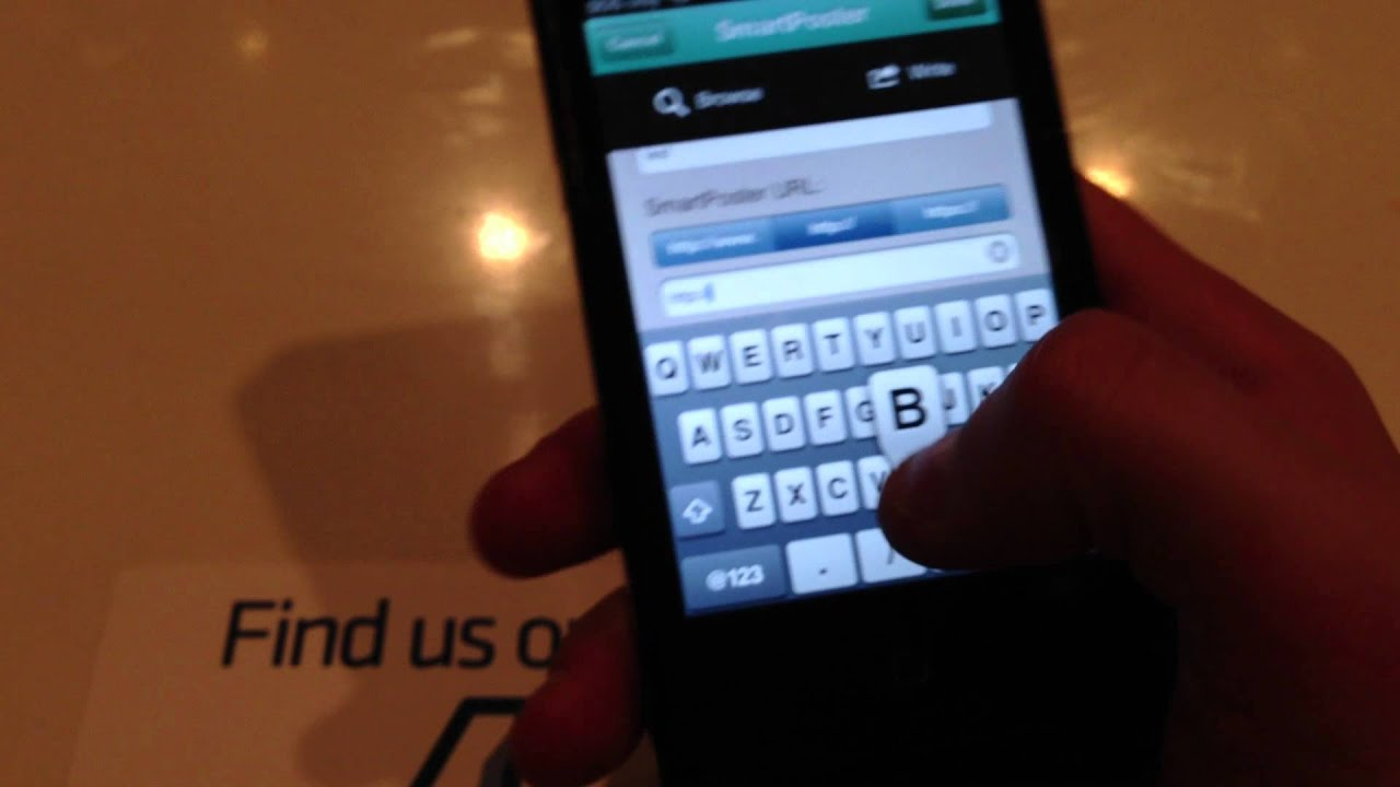 Reading and Writing NFC Tags on the iPhone
