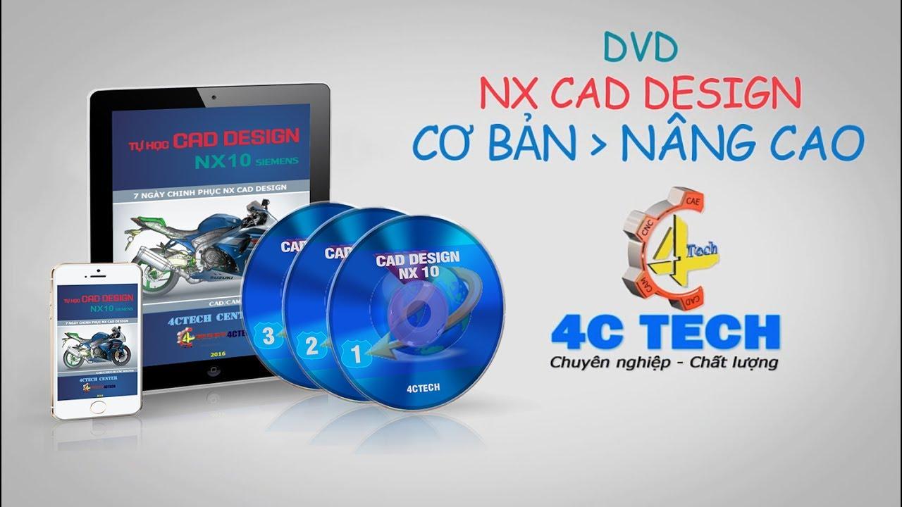 NX CAD Book Introduce - 4CTECH VN