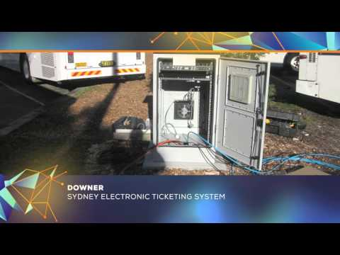NECA NSW Excellence Awards 2015 - DOWNER - Sydney Electronic Ticketing System