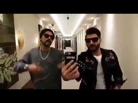 Bilal Saeed and Bohemia Nomakeup Selfie...