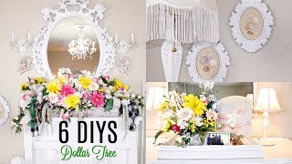 🌻6 DIY DOLLAR TREE SUMMER DECOR CRAFTS LIVING ROOM🌻 MANTEL FLORAL/ BRIDAL Olivia's Romantic Home