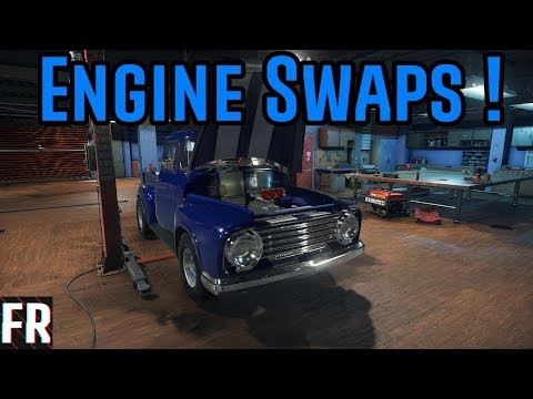 Car Mechanic Simulator 2018 - Engine Swaps ! - YouTube