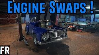 Car Mechanic Simulator 2018 - Engine Swaps !
