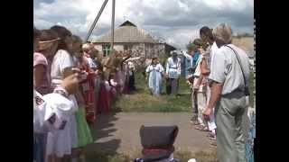 В Белгородской области сыграли свадьбу в старинном русском стиле