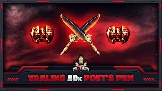 """[PATH OF EXILE] – VAALING 50x """"POET'S PEN"""" – GET SOME INK!"""
