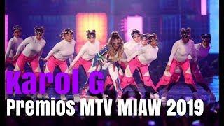 Karol G Canta En Premios MTV MIAW 2019