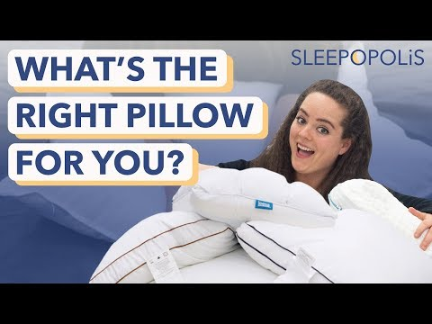 how to choose the right pillow 2021