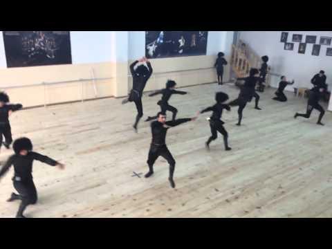 Caucasus Dance, Rehearsal