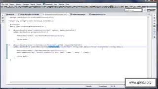 Spring MVC Tutorials 10 - Handling an HTML form using @RequestParam annotation