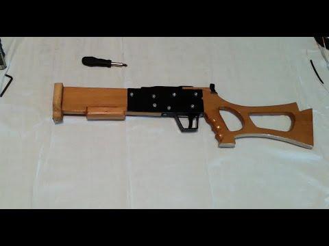 Homemade PVC Mini Crossbow Part 1