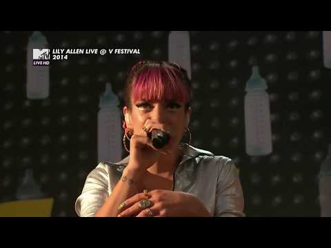 """Lily Allen - """"Hard Out Here"""" [Live at V Festival 2014] Mp3"""