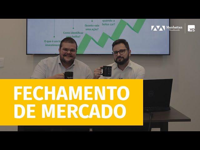 ALTA NA SELIC,  JUROS EUA E RISCO EVERGRANDE  - FECHAMENTO DE MERCADO - 24/09/2021