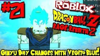 GINYU CHANGES BODIES WITH VEGITO BLUE! | Roblox: Dragon Ball Rage Rebirth 2 - Episode 21