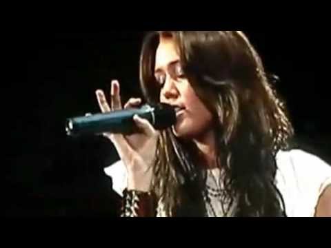 Miley Cyrus   Nick Jonas  Before the Storm  LIVE   HQ Video   Sound