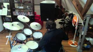 faithfully Journey drum cover