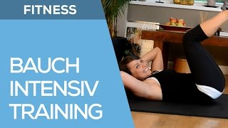 Knackiges Bauchtraining für zuhause - Fitness für Anfänger & Fortgeschrittene - Fit mit Anna - HD