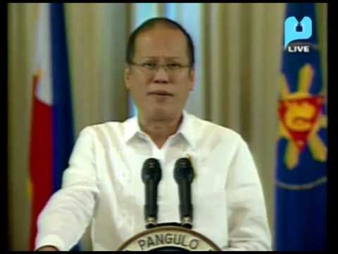 Speech of President Aquino on the Framework Agreement with the MILF - PTV Special Coverage