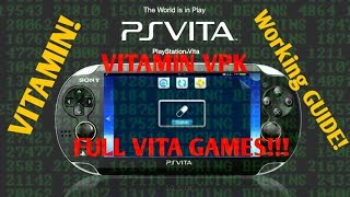 PS Vita Hacks 3.60! HENKAKU HACK VITAMIN Vpk Guide! Need for Speed Full Game Dump!