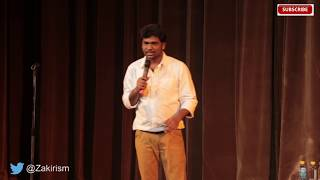 how to impress Girls at an Airport - Zakir khan Stand-up Comedian