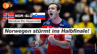 Norwegen - Slowenien 33:30 - Highlights | Handball-EM 2020 - ZDF