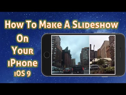 How to make memories video on iphone 5s