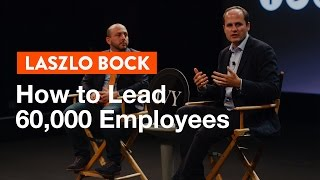 Google's People Chief: How to Lead 60,000 Employees
