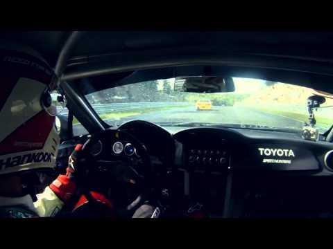 Fredric Aasbø drift Toyota GT 86 at Gatebil