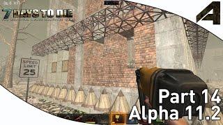 """7 Days To Die Alpha 11.2 Gameplay - Part 14 - """"base Defense"""""""