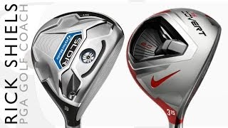 TaylorMade SLDR Vs Nike Covert 2.0 Fairway Woods