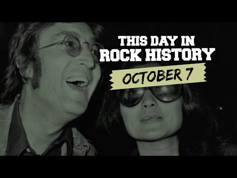 John Lennon Stays Put, Beach Boys Rev Up - October 7 in Rock History