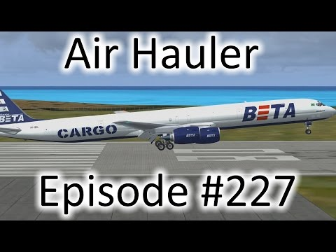 FSX | Air Hauler Ep. #227 - Off to the Dominican Republic | DC-8-73F