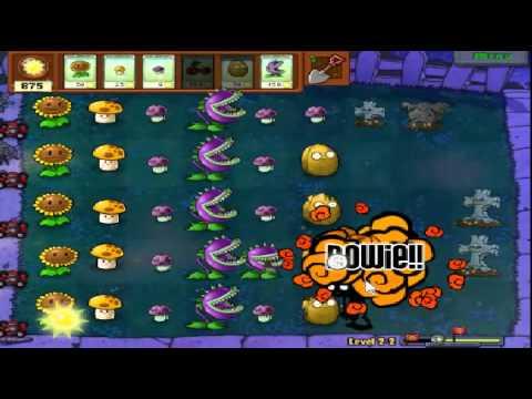 Plants vs zombies (Trồng cây bắn zombie) - Cấp độ 2-2 (Game Việt Hóa)