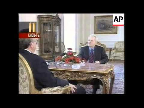 YUGOSLAVIA: BELGRADE: SLOBODAN MILOSEVIC INTERVIEW
