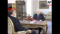YUGOSLAVIA: BELGRADE: SLOBODAN MILOSEVIC INTERVIEW
