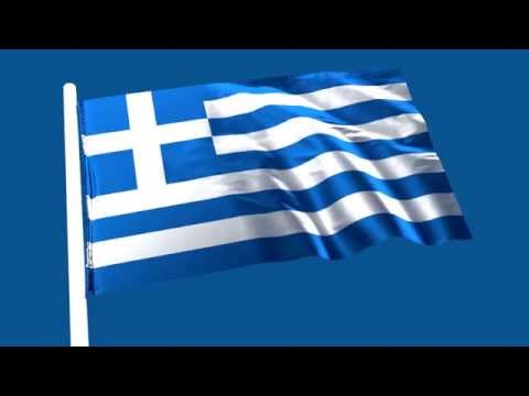 Clip Art Vector - Greek Triangle Flag Hanging, Vector