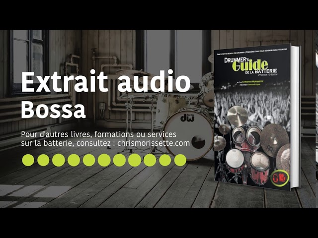 Extrait audio Bossa - Drummer's Guide de la batterie