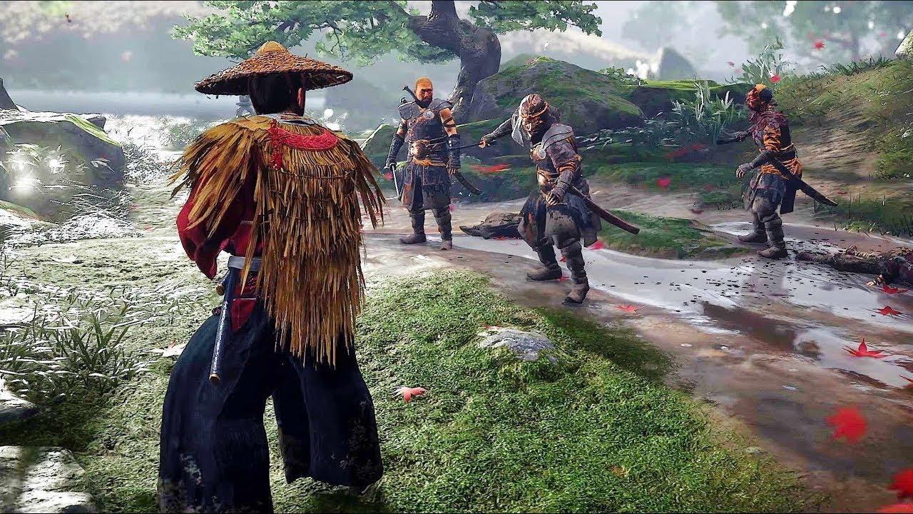 GHOST OF TSUSHIMA [4K] Full Movie All Cutscenes Samurai/Ninja Movie (with Both Endings) 2020