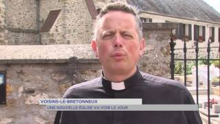 Voisins-le-Bretonneux : nouvelle église pour 2020