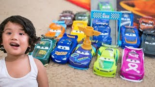 Who is the Fastest CARS 3 NEXT GEN RACERS DIECAST JD McPillar Bubba Wheelhouse Flip Dover