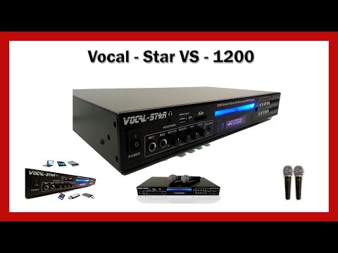 Karaoke -  Vocal Star VS 1200 HDMI